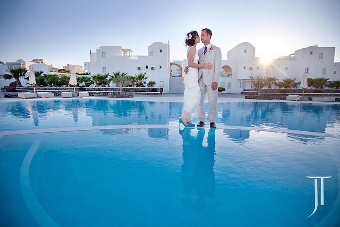 El Greco Hotel Santorini, Greece  #Greece, #Santorini, #Wedding