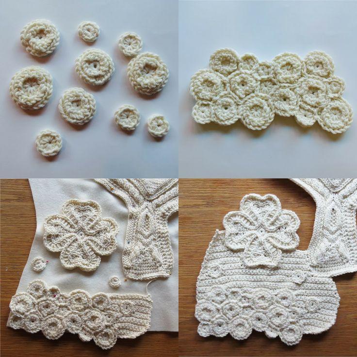 285 best Freeform Crochet Elements images on Pinterest | Freeform ...