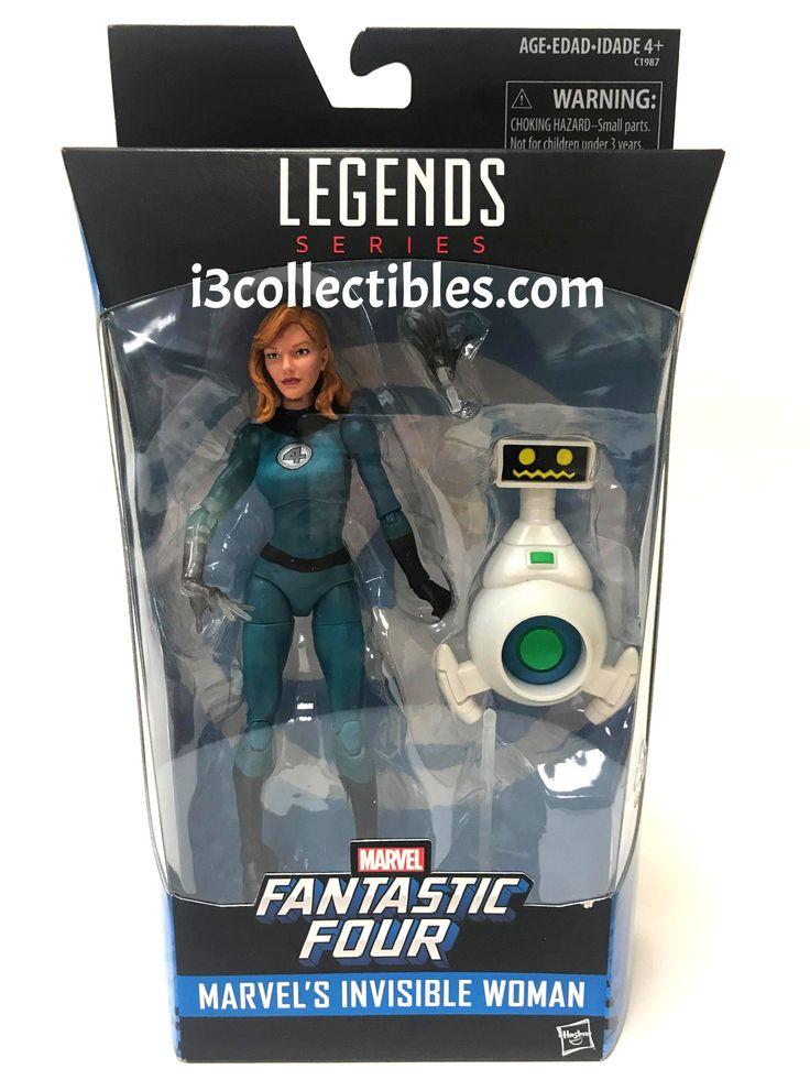 Marvel Legends Fantastic Four Invisible Woman Sue Storm Exclusive Action Figure