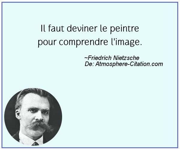 Citation de Friedrich Nietzsche - Proverbes Populaires