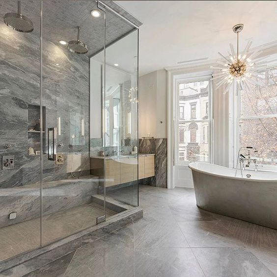 Luxury Minimal Bathroom Ideas #bathroomgoals #luxury #luxuryhome|  Http://fromluxewithlove