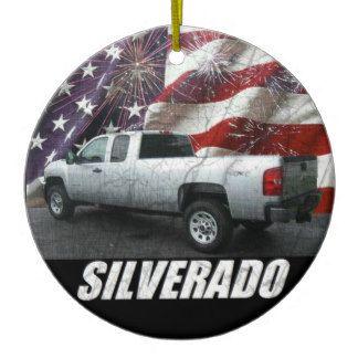 2013 Silverado 3500HD Extended Cab W/T 4x4 Ceramic Ornament