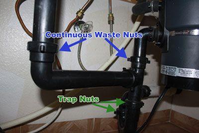 Remove garbage disposal