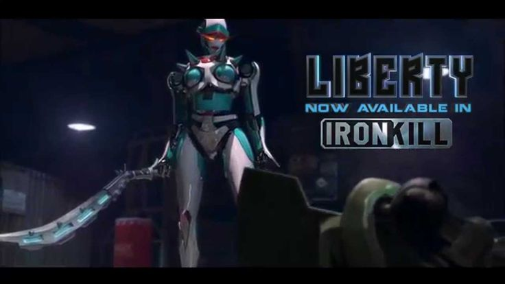 Sword Apparation FX at 0:11  Introducing Liberty - The Queen of Ironkill: Robot Fighting Game