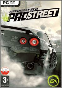 Need for Speed ProStreet (PC) okładka