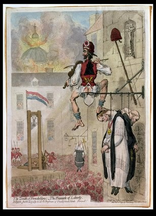 1st blog post-the pinnacle of liberty by James Gillray, 1793.