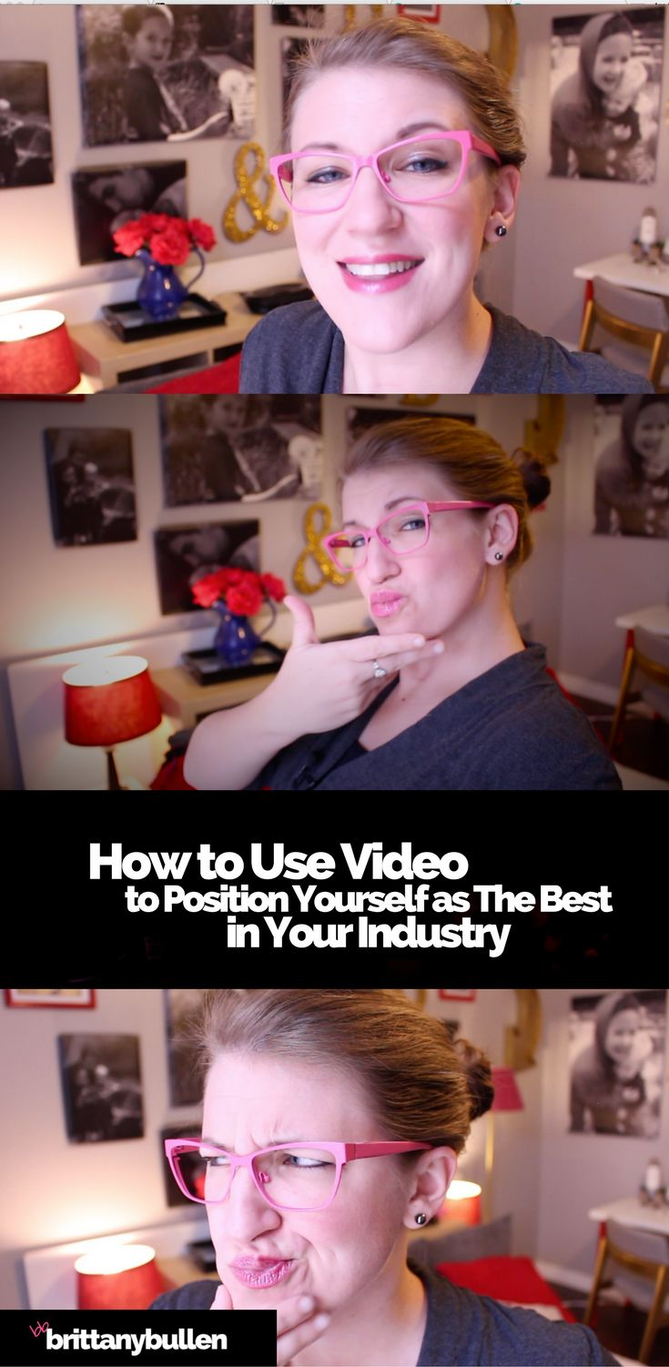 """Watch my latest video to find out how you can use video to set yourself apart and be perceived as """"the best""""-- even if you're just getting started."""