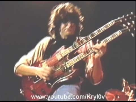 Jeff Beck, Eric Clapton & Jimmy Page Solo - Stairway To Heaven (ARMS Concert 1983)