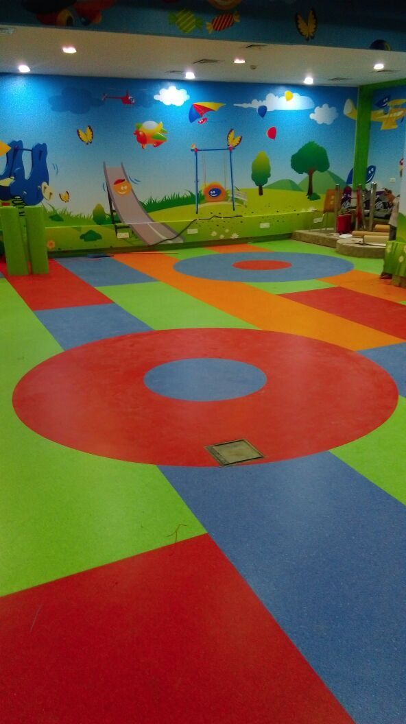 Fun City, Chennai Product used: IQ Granit  Area installed: 13,000sqft  4/6