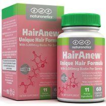 HairAnew (Unique Hair Growth Vitamins with Biotin) - Tested - For Hair, Skin & Nails - Women & Men - Addresses Vitamin Deficiencies That Could Be The Cause of Hair Loss / Lack of Regrowth * 60 VCaps HairAnew (Unique Hair Growth Vitamins with Biotin) - Tested - For Hair, Skin & Nails - Women & Men - Addresses Vitamin Deficiencies That Could Be The Cause of Hair Loss / Lack of Regrowth * 60 VCaps @ tlhealthandbeautyproducts.com