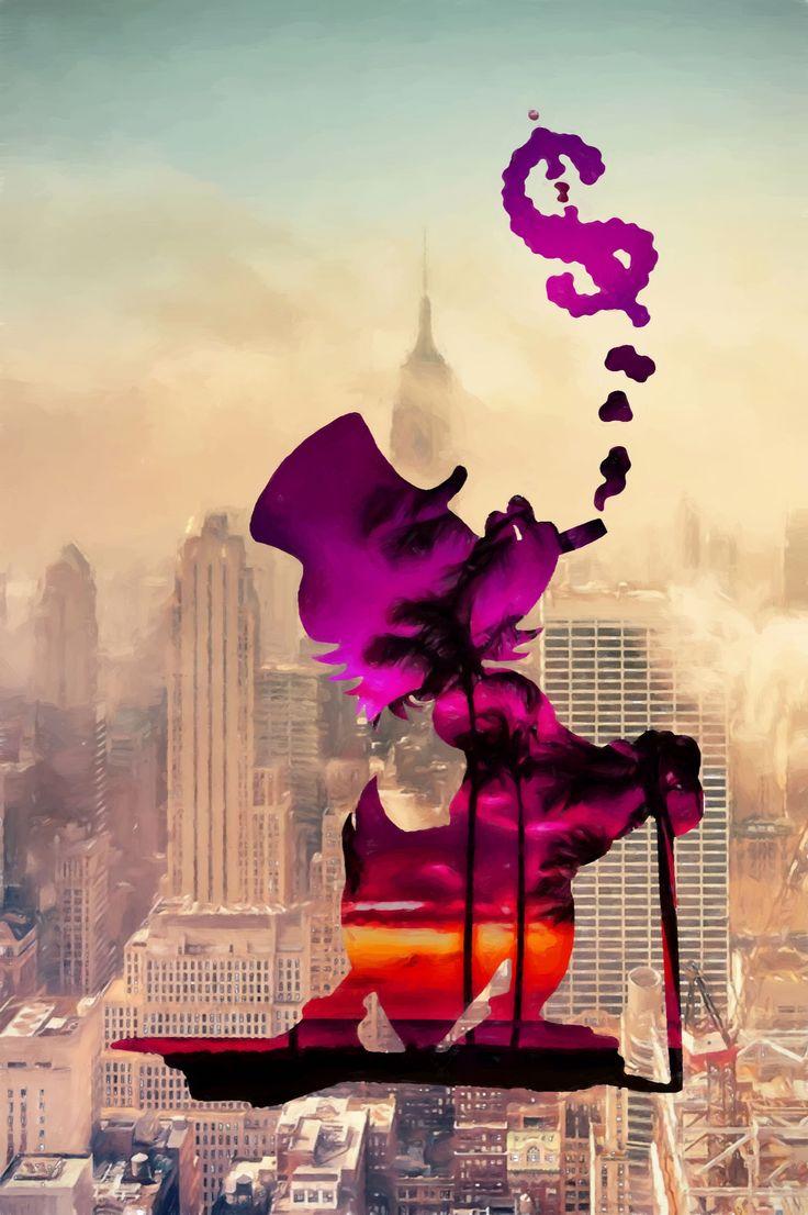 McDream - Dennis Blair 2016  oil on canvas