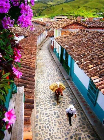 Pueblo santandereano Colombia