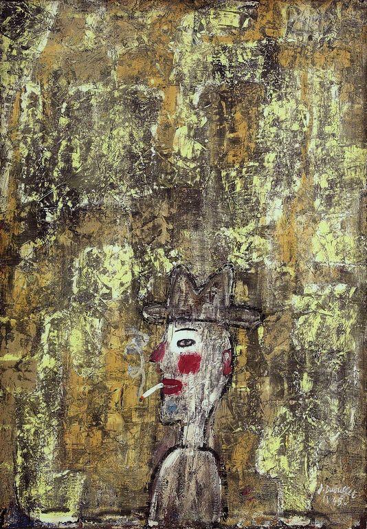 * Fumeur au mur (1945) Jean Dubuffet
