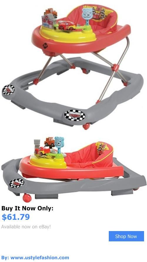 Baby walkers: Disney Baby Lightning Mcqueen Walker Oversized Snack Play Area BUY IT NOW ONLY: $61.79 #ustylefashionBabywalkers OR #ustylefashion