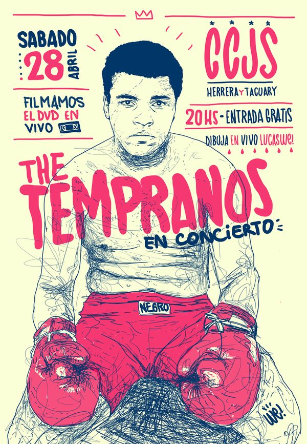 The Tempranos by Lucas We, via #Behance