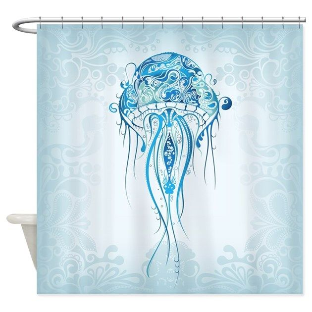 Jellyfish Shower Curtain By Daecu With Images Animal Shower