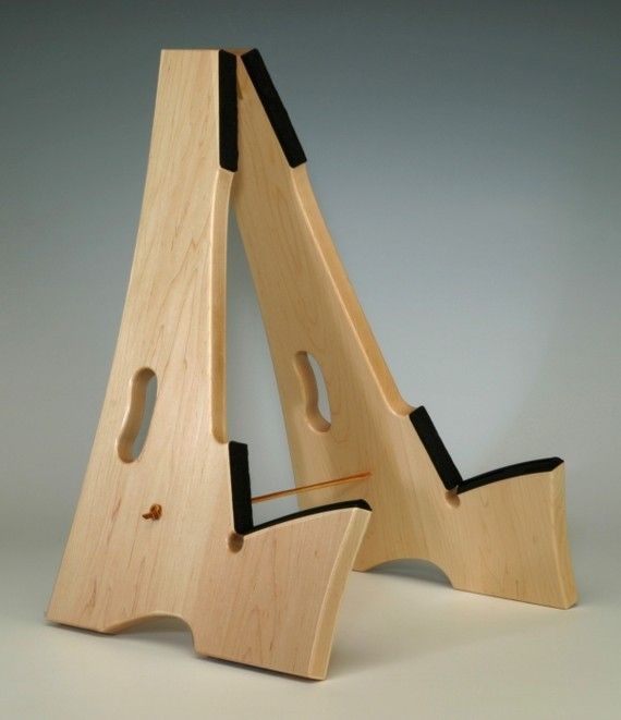 Maple wood, Slay-Frame wooden guitar stand