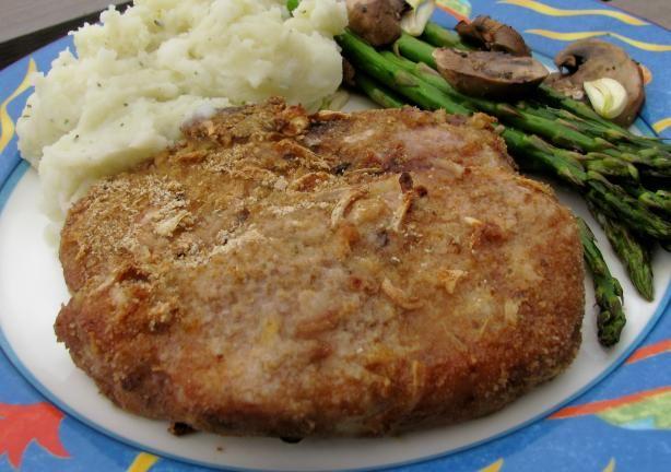 Onion Baked Pork Chops. I use 1 packet lipton golden onion soup mix.