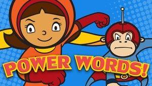 Power Words!   WordGirl   PBS KIDS Vocabulary Games   Help WordGirl save the day.