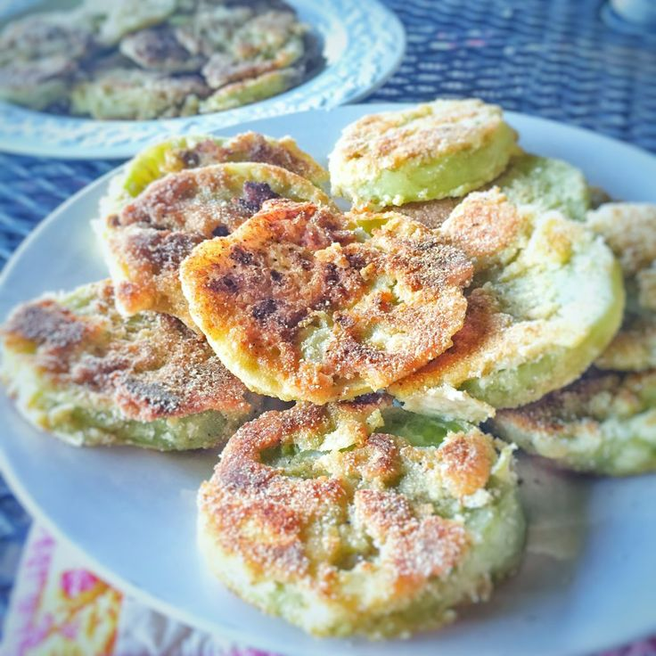 recipe for a side dish synonymous with the south. Fried Green Tomatoes ...