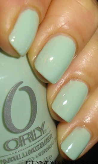 """My Chihuahua Bites!: Orly - """"Jealous Much?"""" So perfect for the mint color trend! C:"""