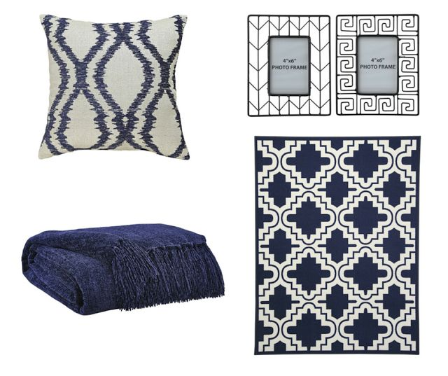 Bring the ocean breeze into your #home, by implementing some #navy #homeaccents. #Confidently create a chic #coastal look by visiting our #blog!