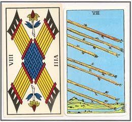 As cartas numeradas do naipe de Paus - Clube do Tarô - Tarot