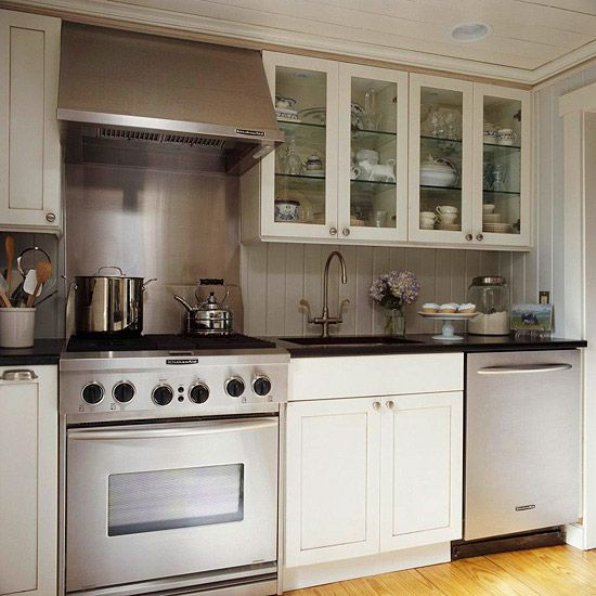 33 best images about galley kitchen ideas on pinterest for Small upper kitchen cabinets