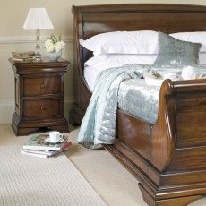 Normandie Mahogany Double (135cm) High End Bedstead