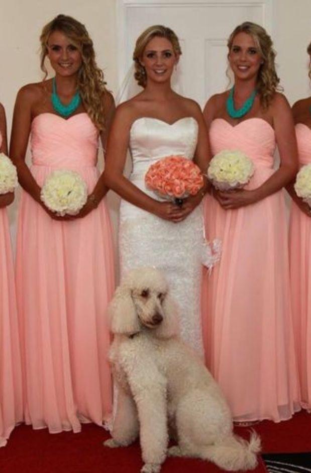 Bridesmaid Dresses, Empire Strapless Elegant Ankle-Length Chiffon Bridesmaid #Bridesmaid #Bridesmaiddress #dress #fashion #love #shopping #art #dress #women #mermaid #SEXY #Sexygirl #Bridesmaiddresses