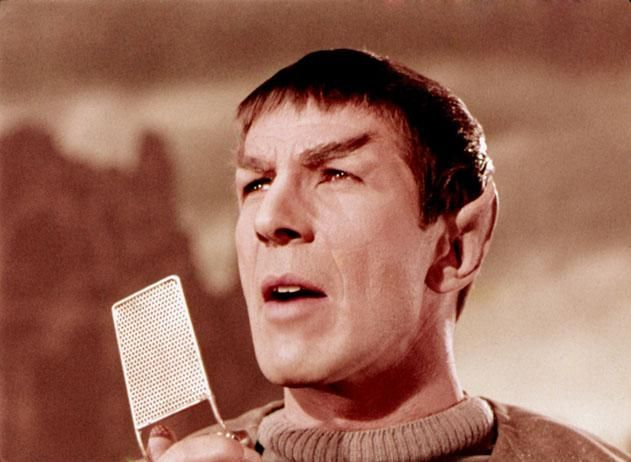 """Martin Cooper credited the Star Trek communicator as his inspiration for the first cell phone. """"That was not fantasy to us, that was an objective."""""""