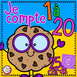 Boom Cards - Cookie Counting - FRENCH
