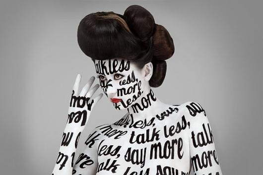 #designspiration #typographyPhotography Portfolio, Jessicawalsh, Web Design, Stefan Sagmeister, Body Painting, Black White, Graphics Design, Typography, Jessica Walsh