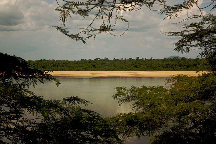 Vista do Rio Branco, um dos símbolos naturais de Boa Vista, capital de Roraima MAIS Eduardo Vessoni/UOL