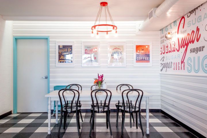 Retro Bakery Interiors - The New Sugar Mama's Bakeshop Location is Infused with Nostalgia (GALLERY)