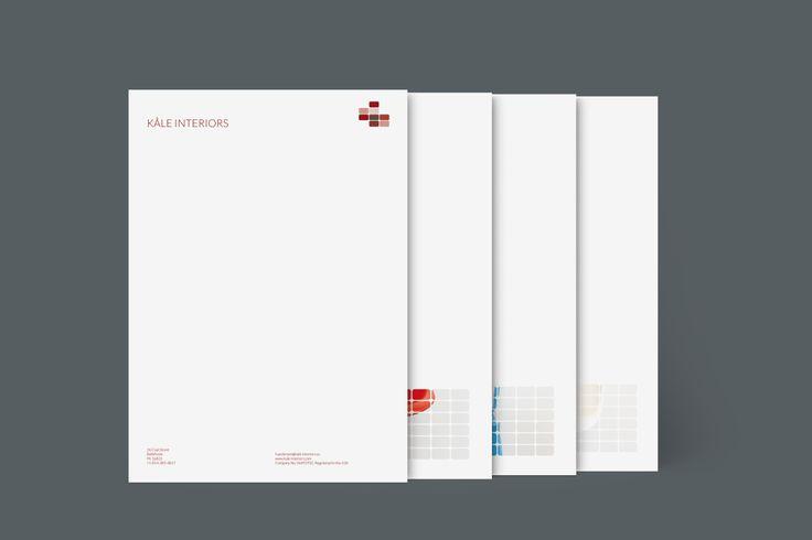 Design: Blocked Up Designer: Felix Ackerman Products: Letterheads, Notecards, MiniCards, Business Cards