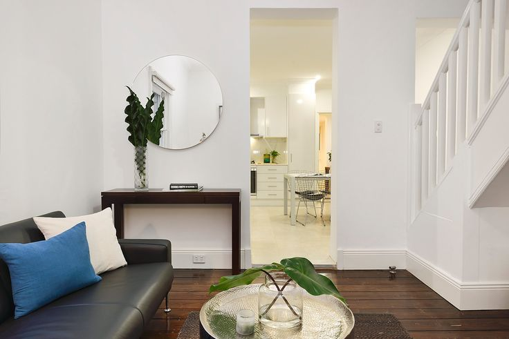Leather, Lounge, Couch, Living, Green, Nature, Mirrors, Interior Design, Real Estate, For Sale, Annandale, Pilcher Residential