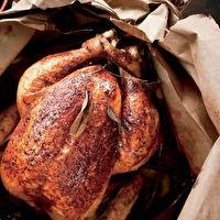 Brown Bag Chicken by Sara Foster | Recipes | Pinterest