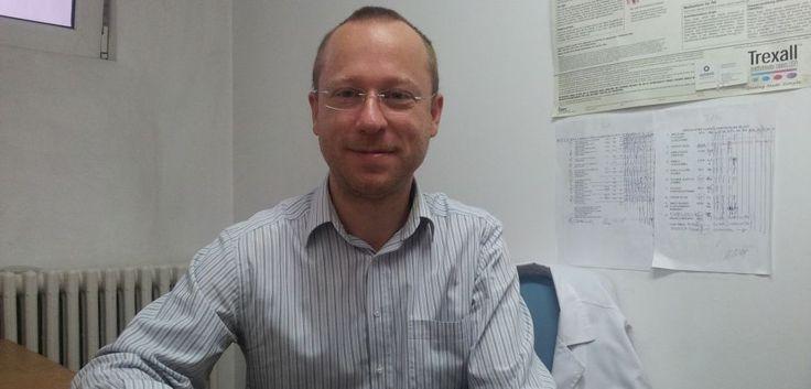 Dr. Alexis-Virgil Cochino, medic specialist în alergologie şi imunologie clinică FOTO Natalia Gociu