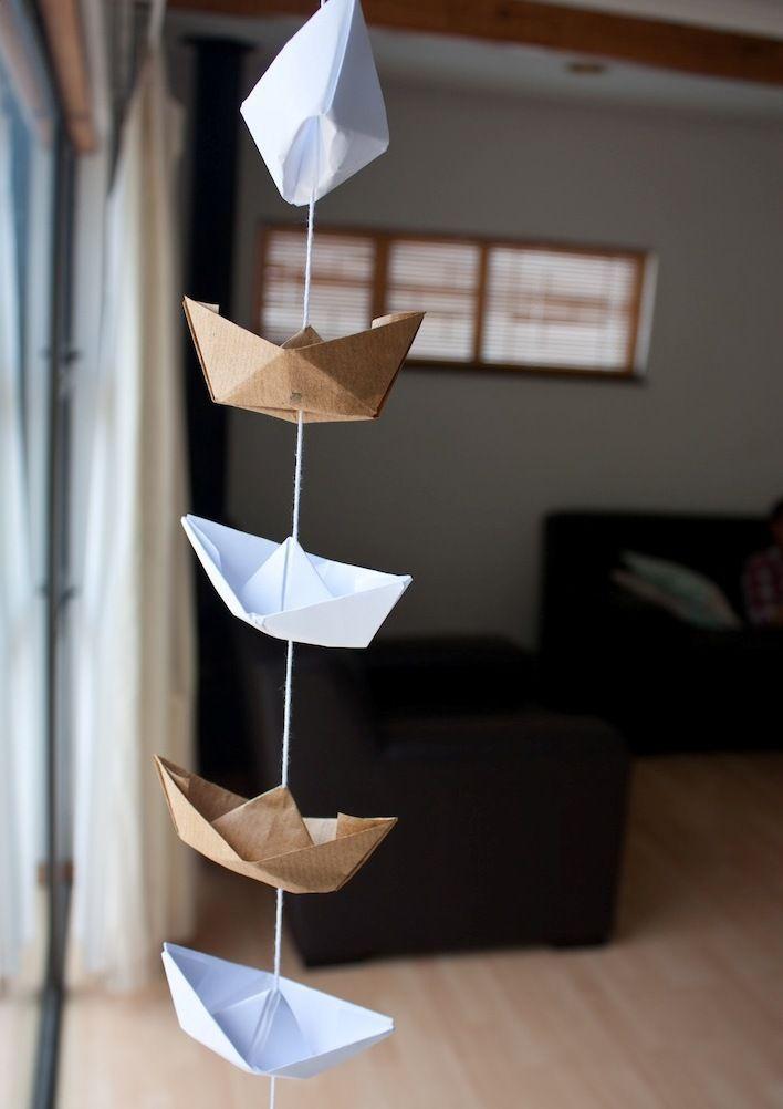 HappyModern.RU | Гирлянды из бумаги своими руками (50 фото): декор для уютного дома | http://happymodern.ru