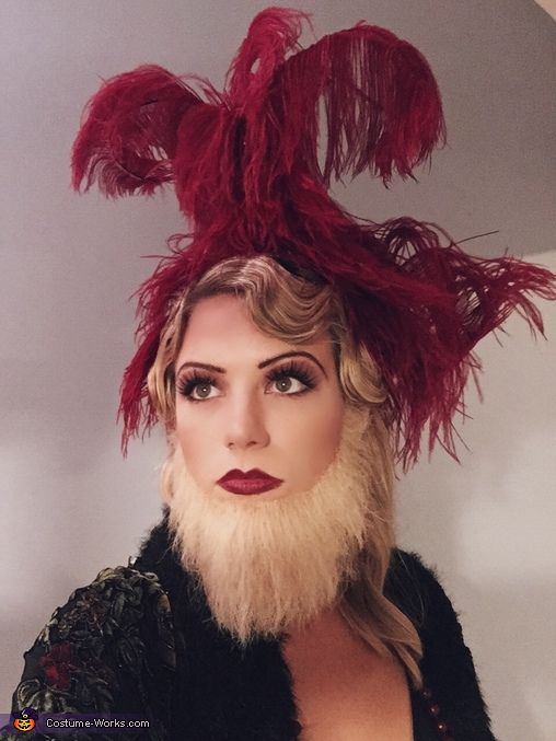 The Bearded Lady - 2015 Halloween Costume Contest via @costume_works