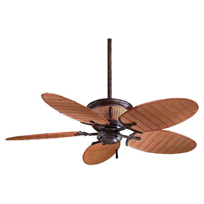 52 Casa Vieja Tropical Veranda Bronze Outdoor Ceiling Fan: Outdoor Ceiling Fan