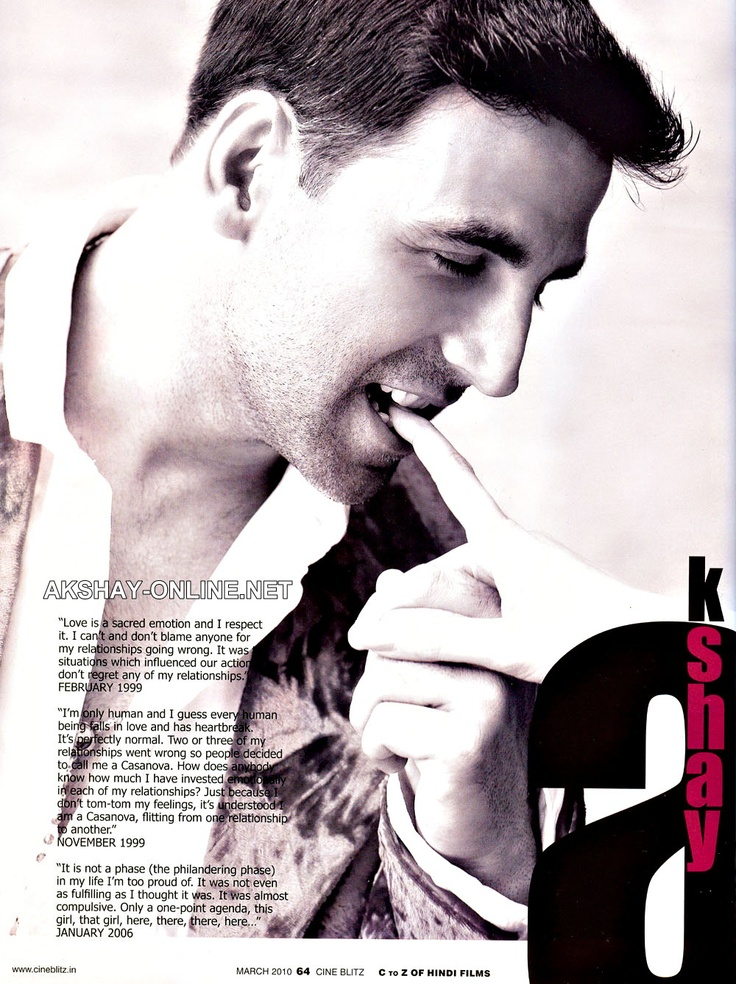 Akshay Kumar - yes please lol