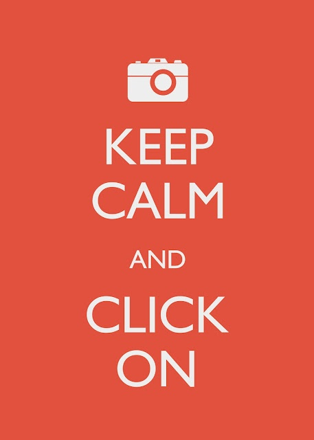 Keep Calm and Click On Printable