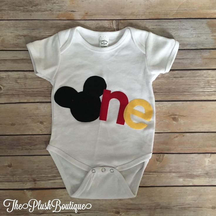 Disney Mickey Mouse Inspired Baby Boy One First Birthday Onesie by Theplushboutique on Etsy https://www.etsy.com/listing/268641536/disney-mickey-mouse-inspired-baby-boy