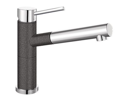 Blanco Taps ALTASA / ALTASW - Pull out hand spray with metal sheathed hose ensures longevity of the tap ($671.2 https://bathroomwarehouse.com.au/tapware/silgranit_single_lever_mixer_anthracite_chrome.html)