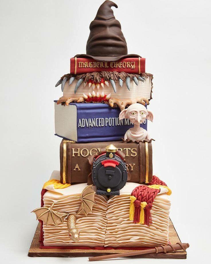 Harry Potter Cake!! Utterly fantastic!
