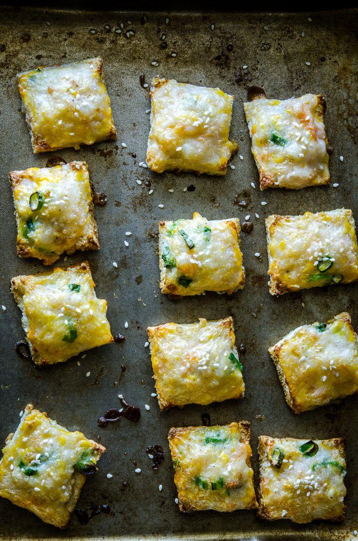 Baked Shrimp Toast | Burp! Appetit