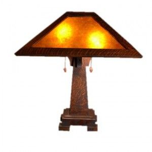 Mission Craftsman Table Lamp   Holland   Rustic Furniture and Decor from RusticArtistry.com