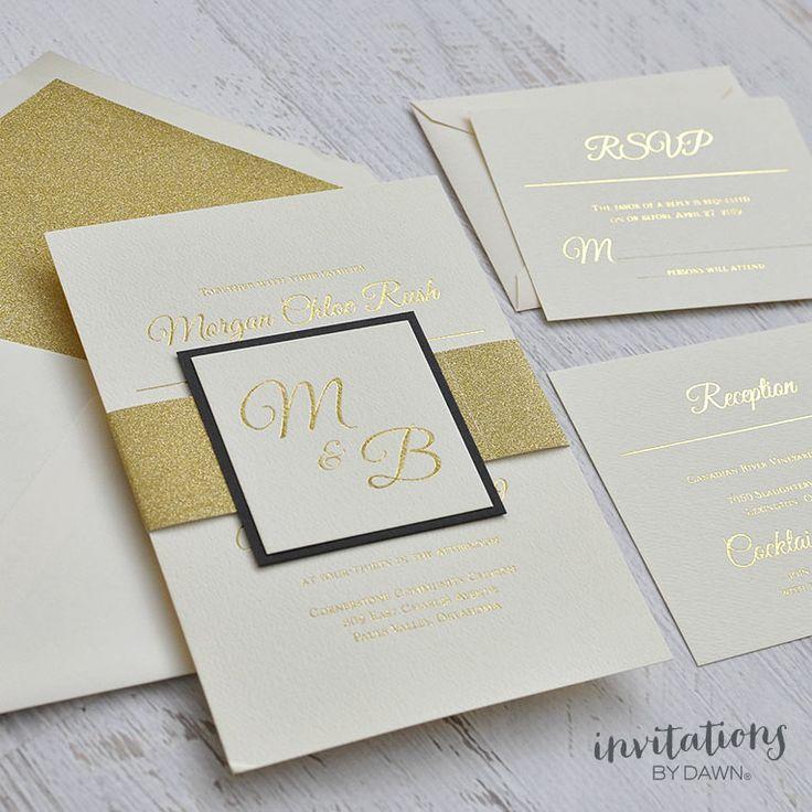 An elegant wedding invitation that can do